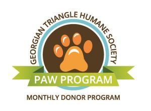 PAW Monthly Donor Program